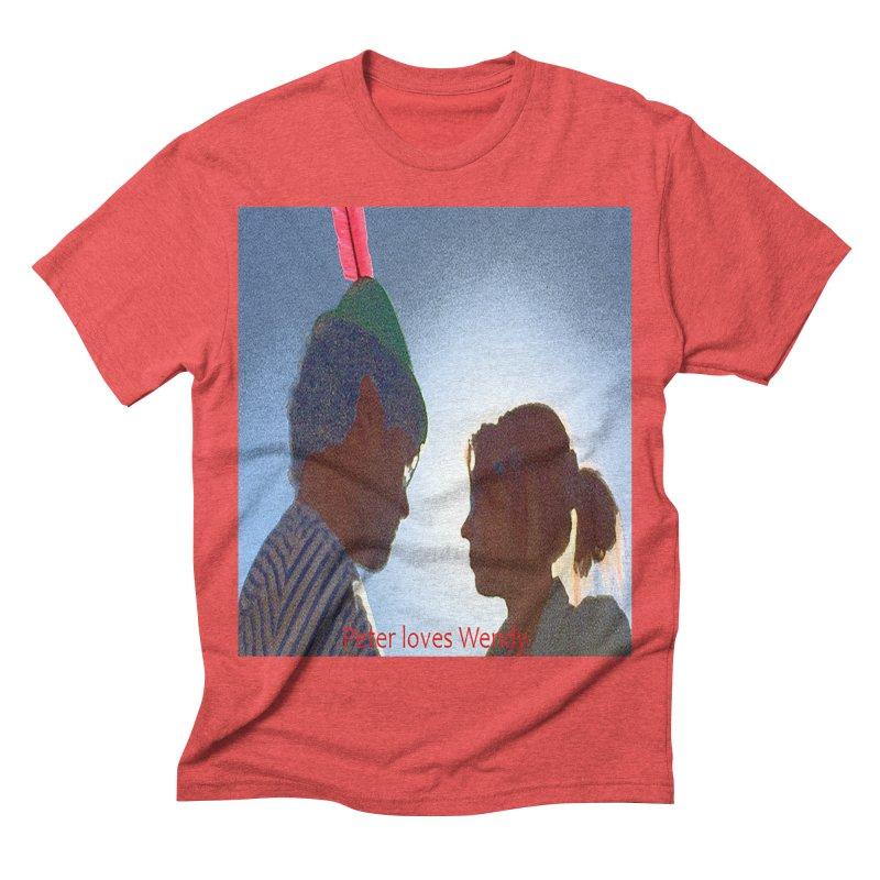 Peter Loves Wendy! <3 Men's Triblend T-shirt by terryann's Artist Shop