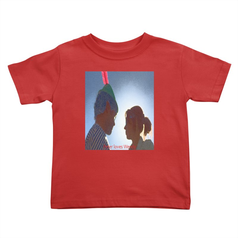 Peter Loves Wendy! <3 Kids Toddler T-Shirt by terryann's Artist Shop