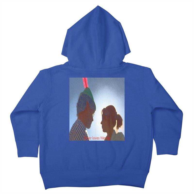 Peter Loves Wendy! <3 Kids Toddler Zip-Up Hoody by terryann's Artist Shop