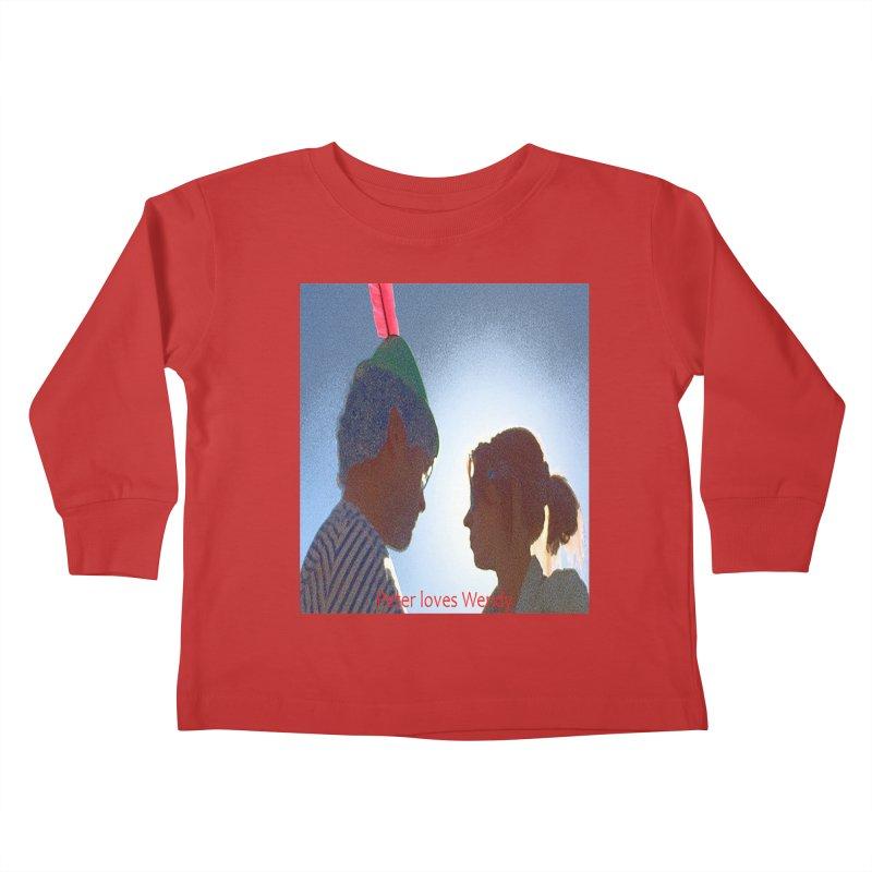 Peter Loves Wendy! <3 Kids Toddler Longsleeve T-Shirt by terryann's Artist Shop