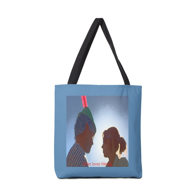 Peter Loves Wendy! <3 Accessories Bag by terryann's Artist Shop