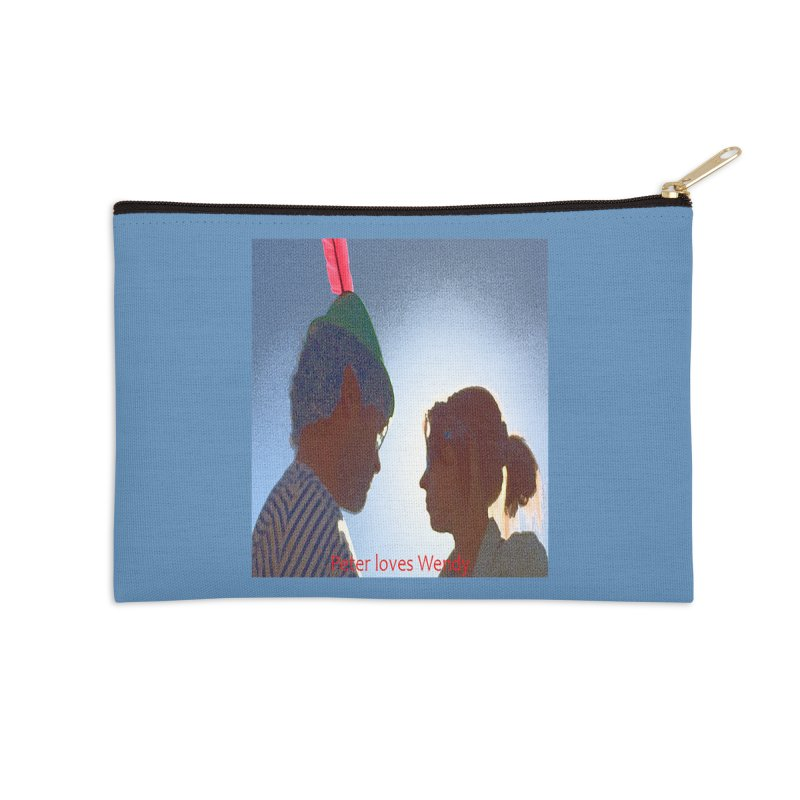 Peter Loves Wendy! <3 Accessories Zip Pouch by terryann's Artist Shop