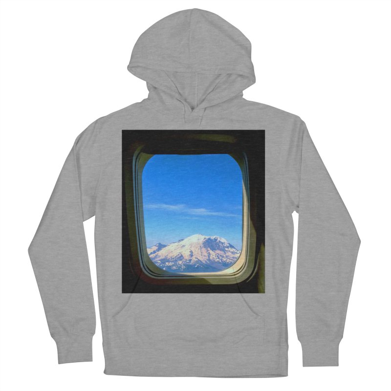 Flying over Rainer Women's Pullover Hoody by terryann's Artist Shop