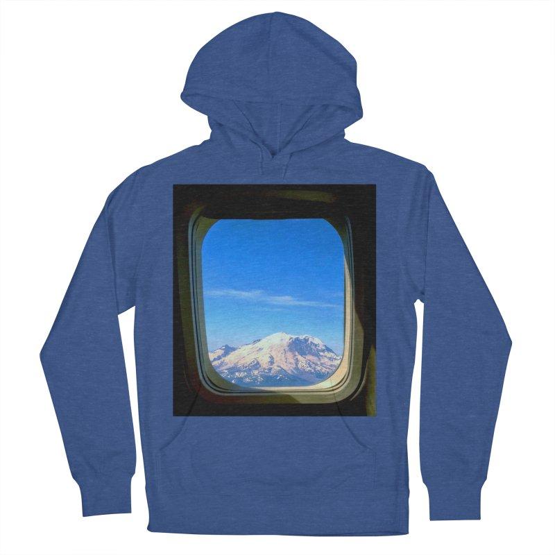 Flying over Rainer Men's Pullover Hoody by terryann's Artist Shop