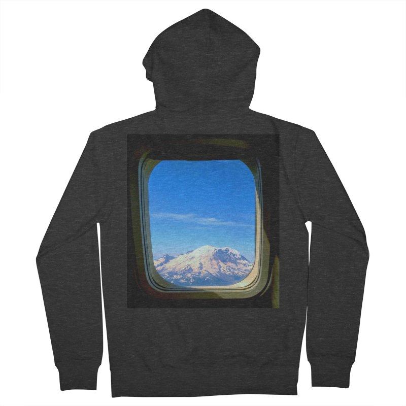 Flying over Rainer Men's Zip-Up Hoody by terryann's Artist Shop