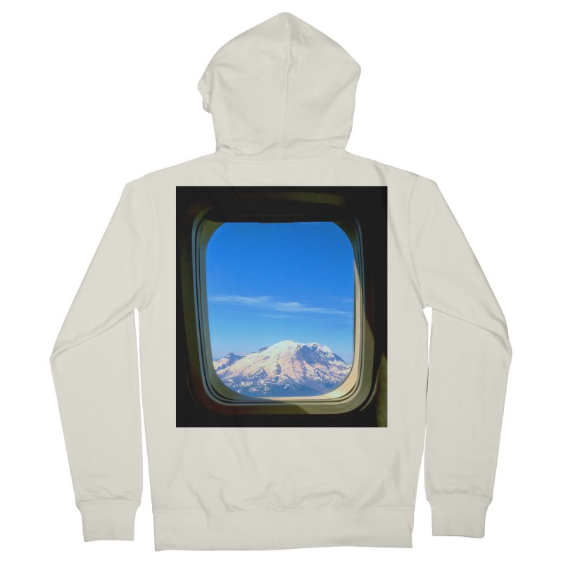 Flying over Rainer Men's Zip-Up Hoody by terryann's Artist Shop