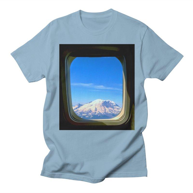 Flying over Rainer Men's T-shirt by terryann's Artist Shop