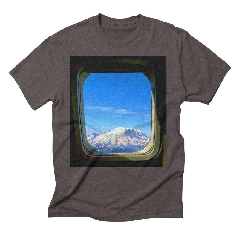 Flying over Rainer Men's Triblend T-Shirt by terryann's Artist Shop