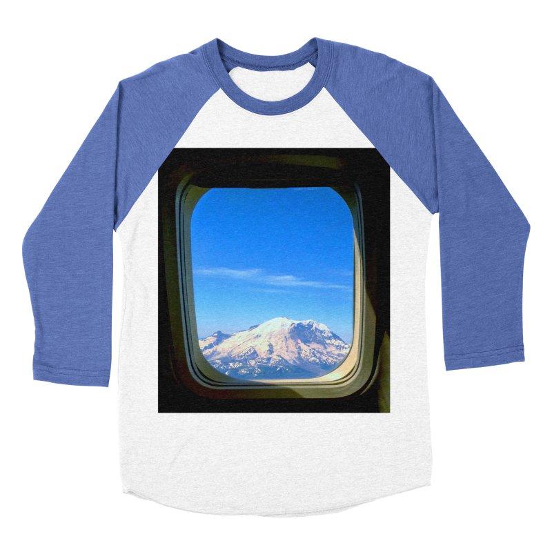 Flying over Rainer Women's Baseball Triblend T-Shirt by terryann's Artist Shop