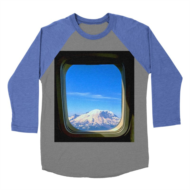Flying over Rainer Men's Baseball Triblend T-Shirt by terryann's Artist Shop