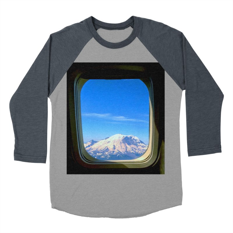 Flying over Rainer Men's Baseball Triblend T-Shirt by terryann's Artist Shop