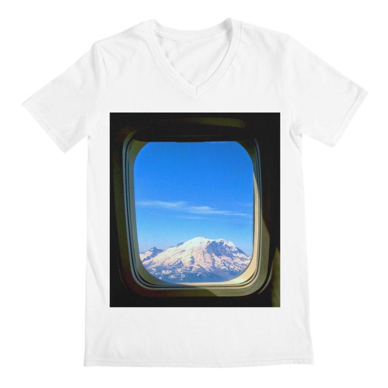 Flying over Rainer Men's V-Neck by terryann's Artist Shop
