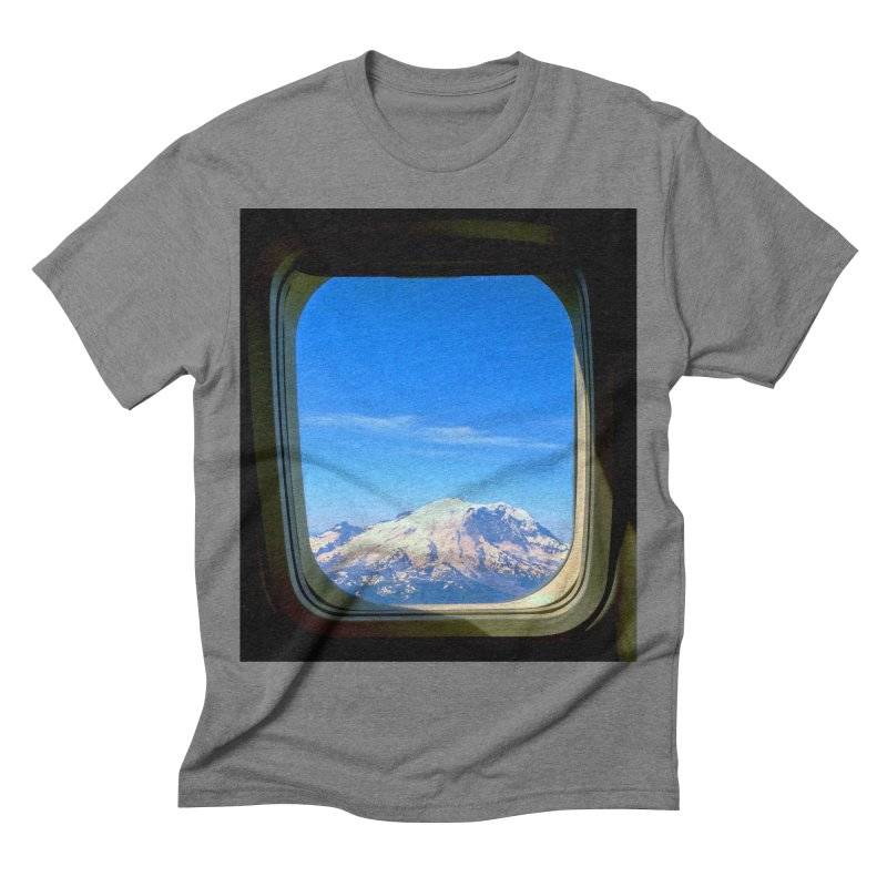 Flying over Rainer Men's Triblend T-shirt by terryann's Artist Shop