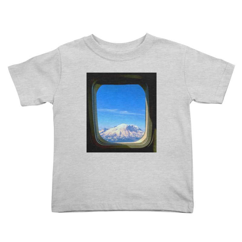 Flying over Rainer Kids Toddler T-Shirt by terryann's Artist Shop