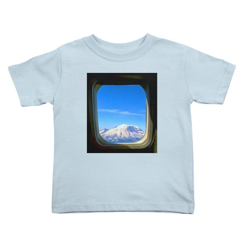 Flying over Rainer Kids Toddler T-Shirt by terryann's Artist Shop