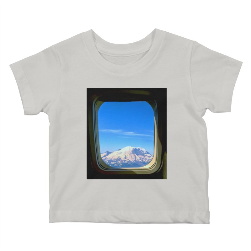 Flying over Rainer Kids Baby T-Shirt by terryann's Artist Shop