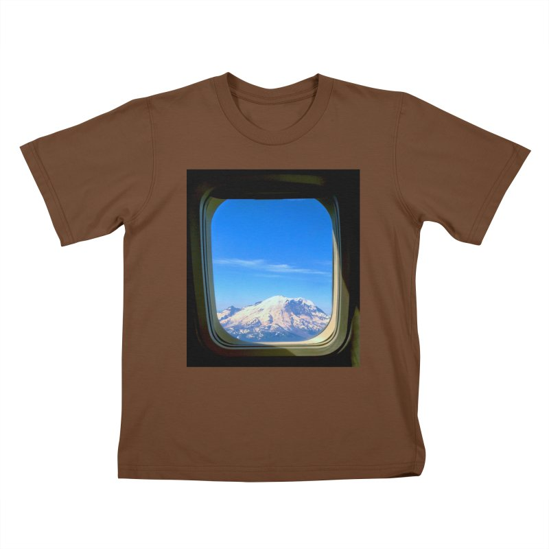 Flying over Rainer Kids T-shirt by terryann's Artist Shop