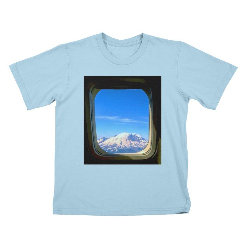 Flying over Rainer Kids T-shirt by terryann's Artist Shop