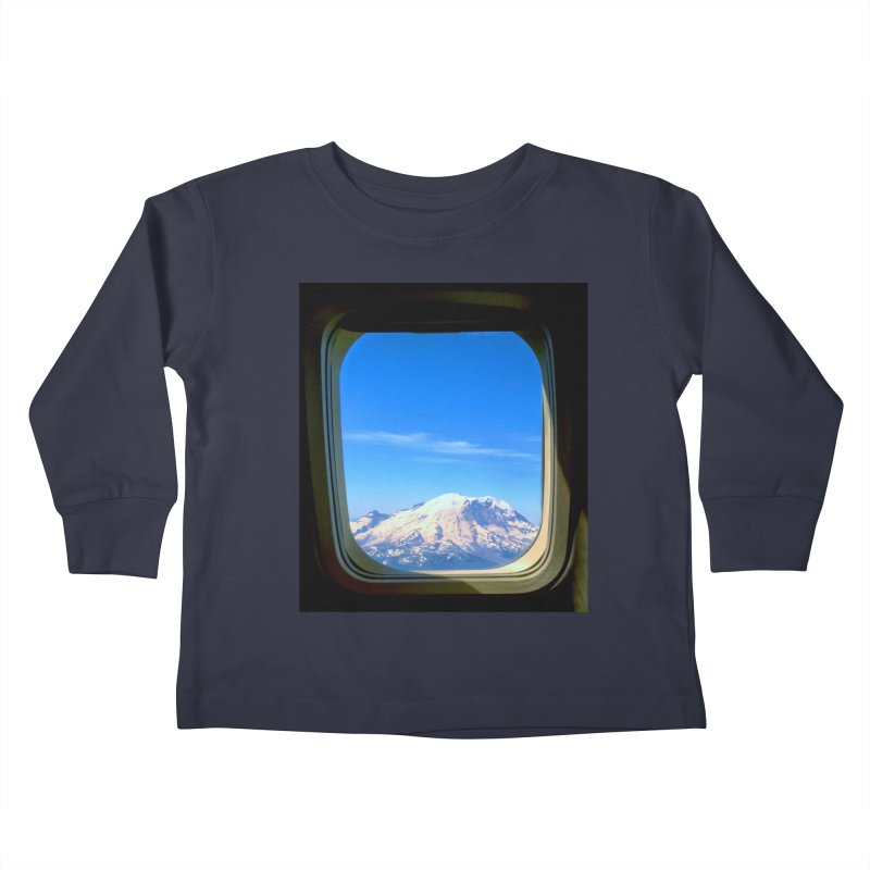 Flying over Rainer Kids Toddler Longsleeve T-Shirt by terryann's Artist Shop