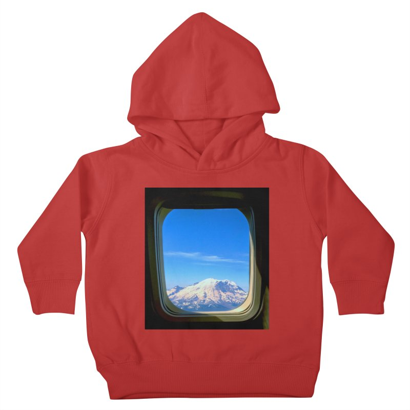 Flying over Rainer Kids Toddler Pullover Hoody by terryann's Artist Shop