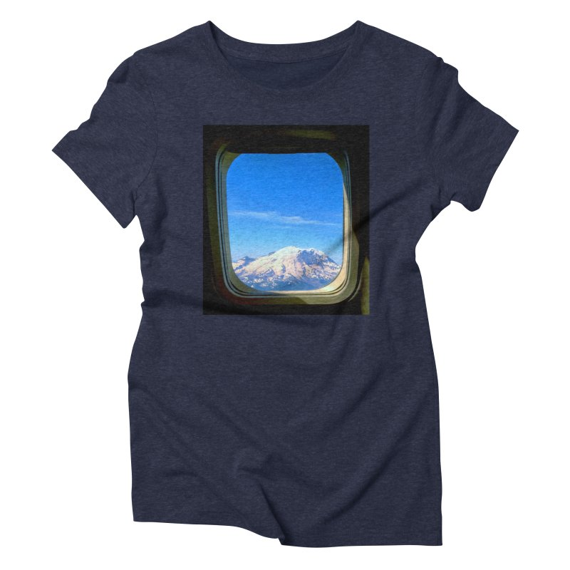 Flying over Rainer Women's Triblend T-Shirt by terryann's Artist Shop
