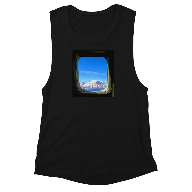 Flying over Rainer Women's Muscle Tank by terryann's Artist Shop