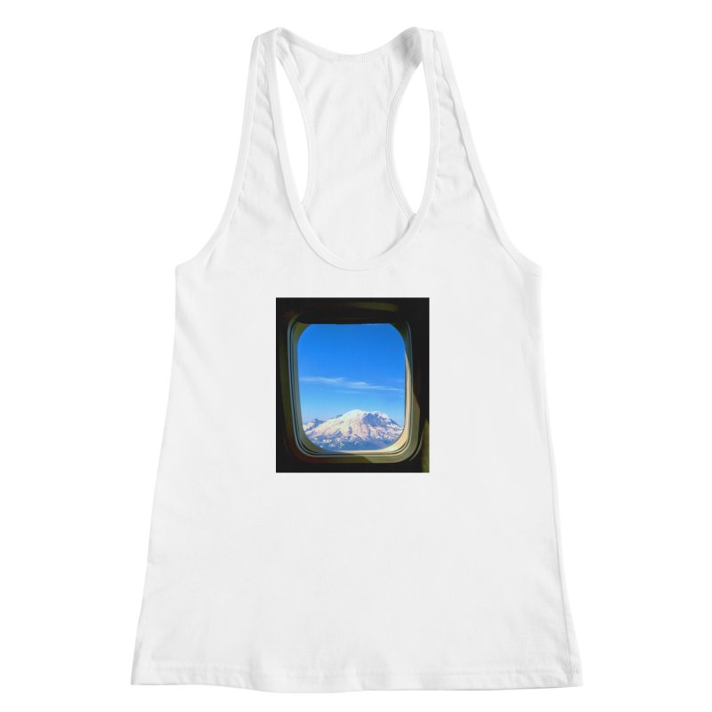 Flying over Rainer Women's Racerback Tank by terryann's Artist Shop