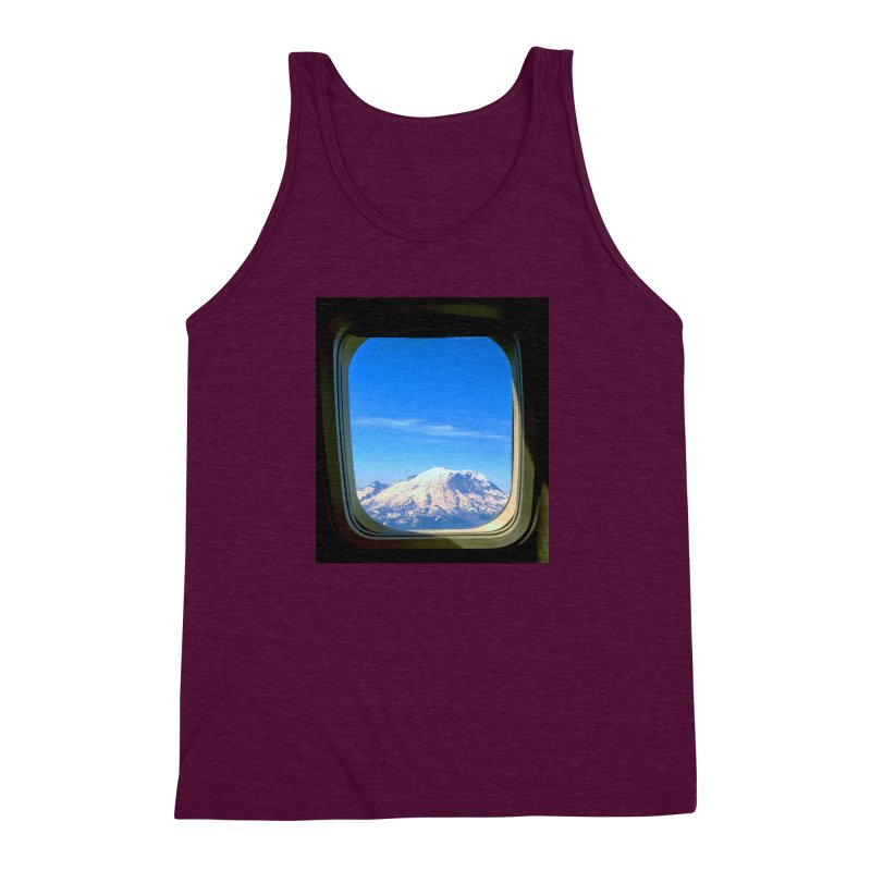 Flying over Rainer Men's Triblend Tank by terryann's Artist Shop