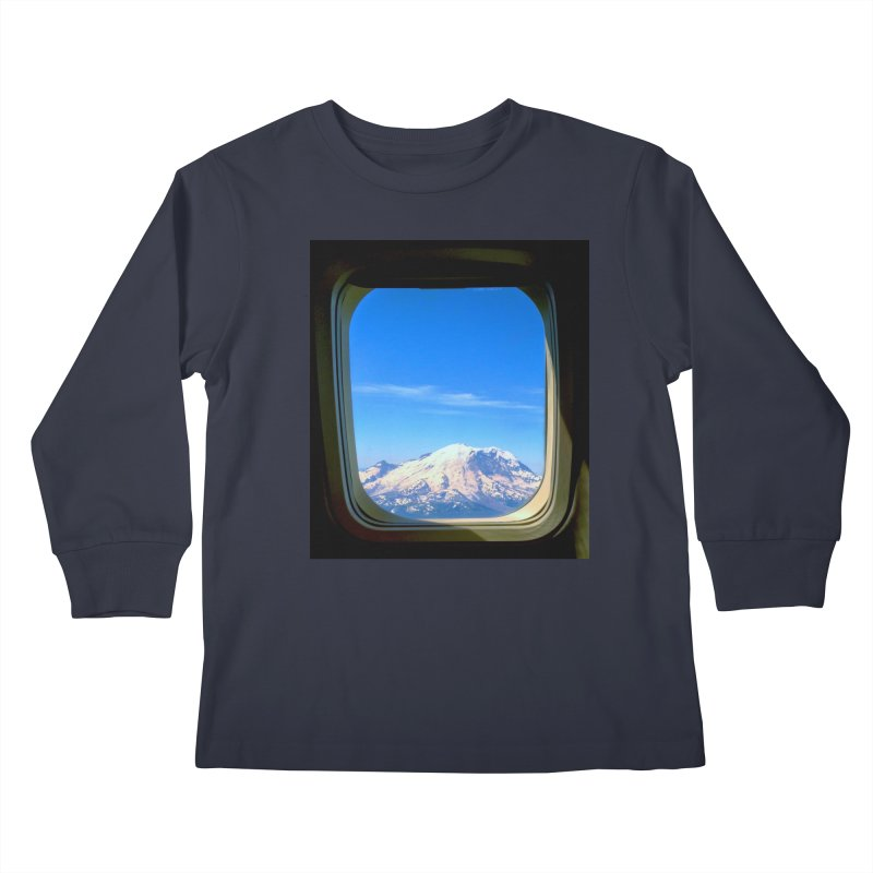 Flying over Rainer Kids Longsleeve T-Shirt by terryann's Artist Shop