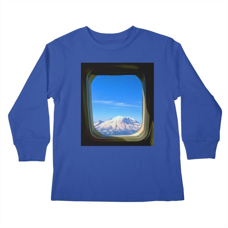 Flying over Rainer Kids Longsleeve T-Shirt by terryann's Artist Shop