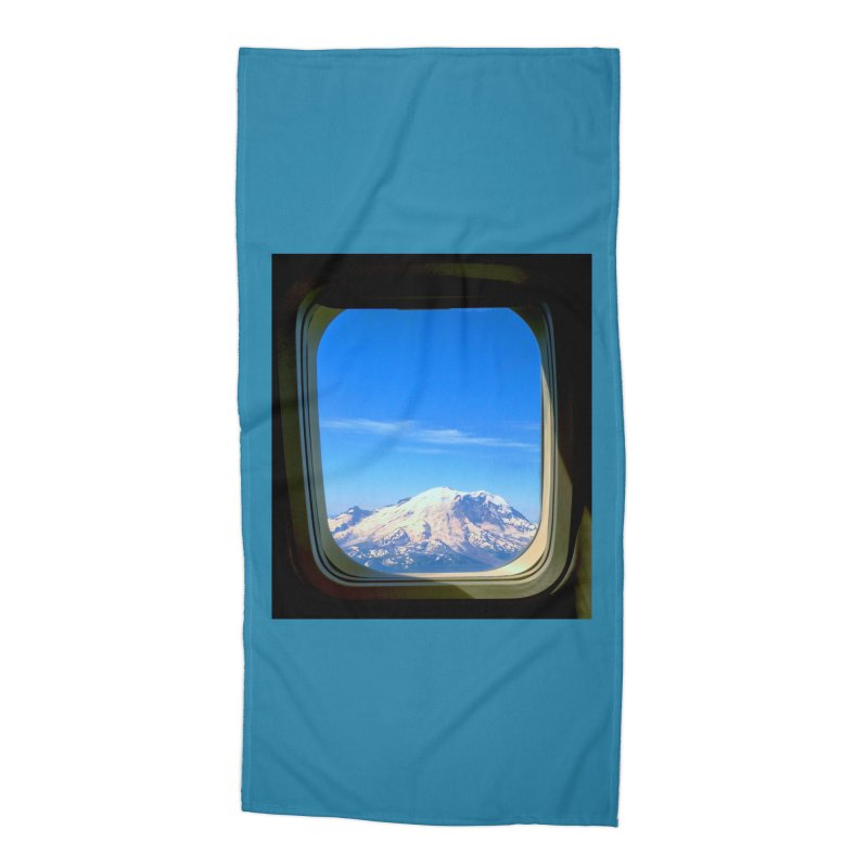 Flying over Rainer Accessories Beach Towel by terryann's Artist Shop