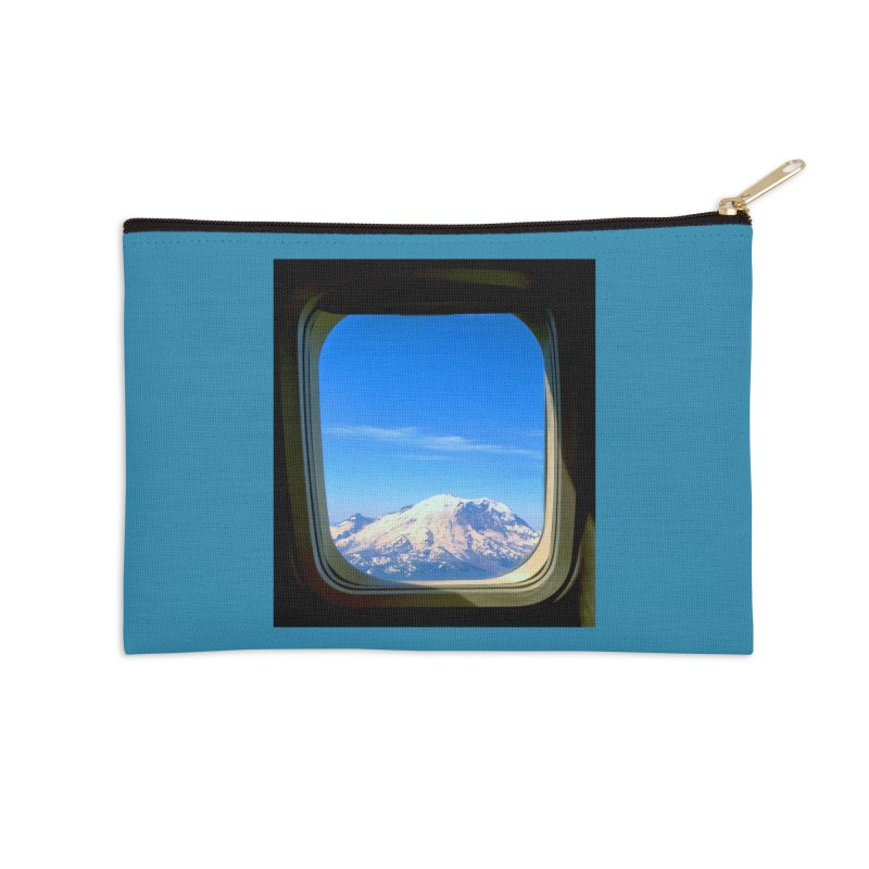Flying over Rainer Accessories Zip Pouch by terryann's Artist Shop