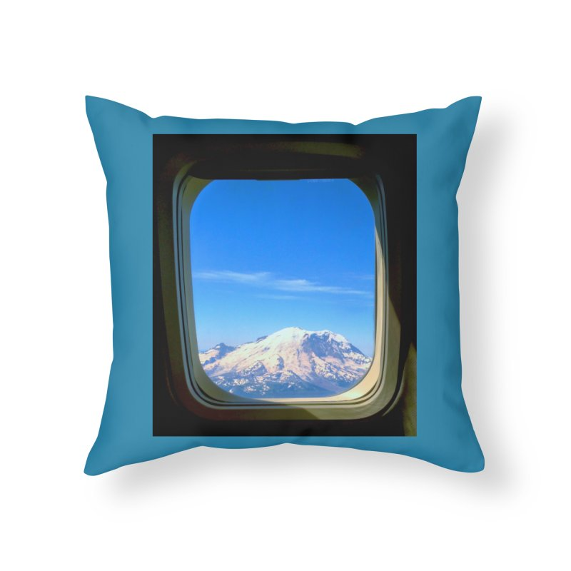 Flying over Rainer Home Throw Pillow by terryann's Artist Shop
