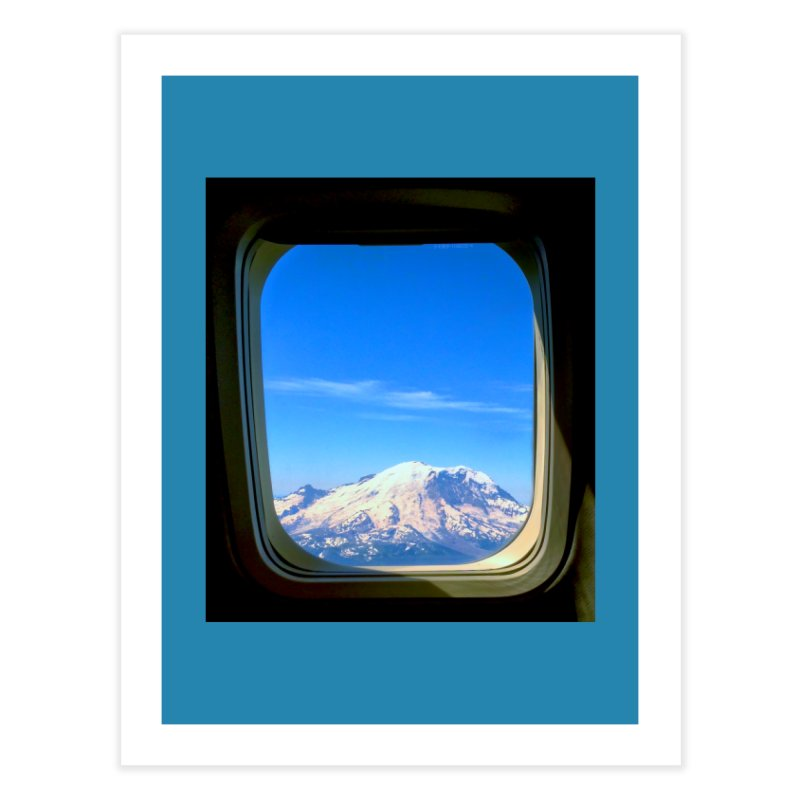 Flying over Rainer Home Fine Art Print by terryann's Artist Shop