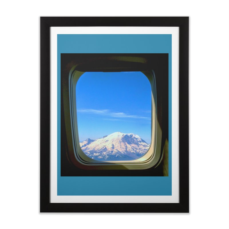Flying over Rainer Home Framed Fine Art Print by terryann's Artist Shop