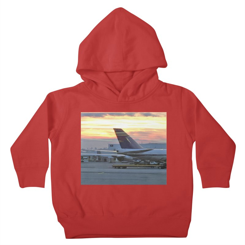 Fly with Me Kids Toddler Pullover Hoody by terryann's Artist Shop