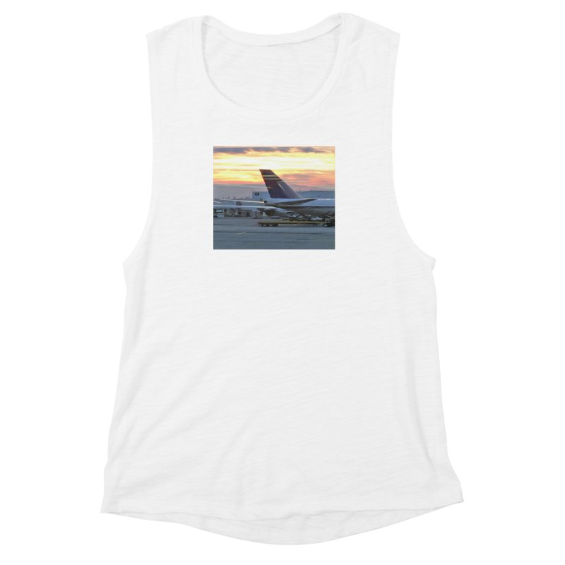 Fly with Me Women's Muscle Tank by terryann's Artist Shop