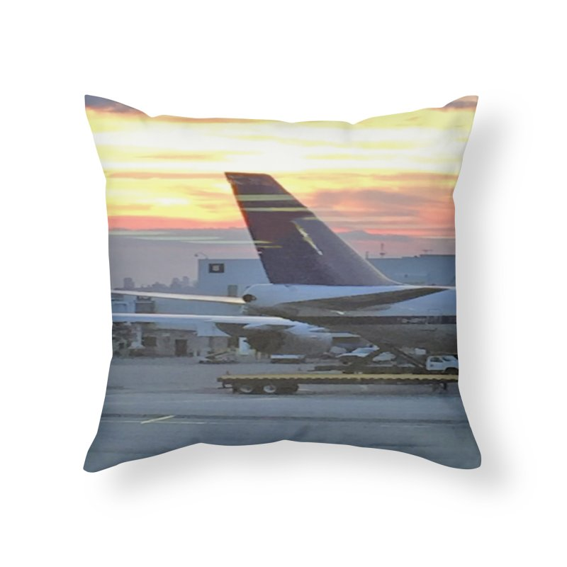 Fly with Me Home Throw Pillow by terryann's Artist Shop