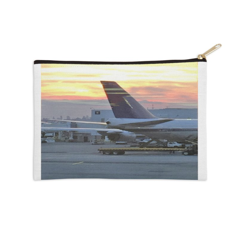 Fly with Me Accessories Zip Pouch by terryann's Artist Shop