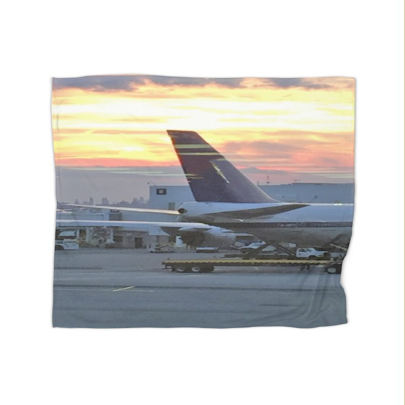 Fly with Me Home Fleece Blanket by terryann's Artist Shop