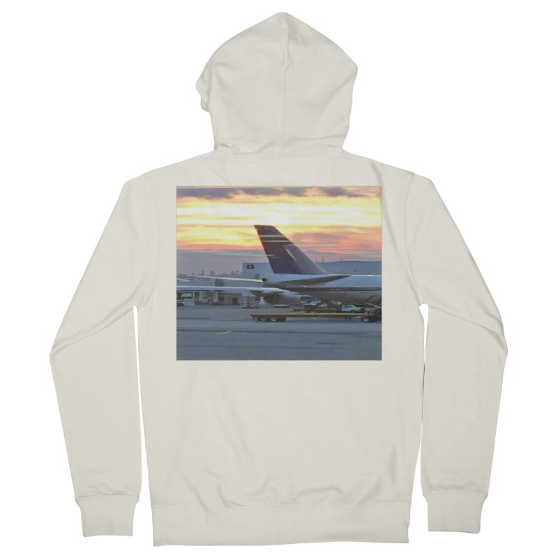 Fly with Me Women's Zip-Up Hoody by terryann's Artist Shop