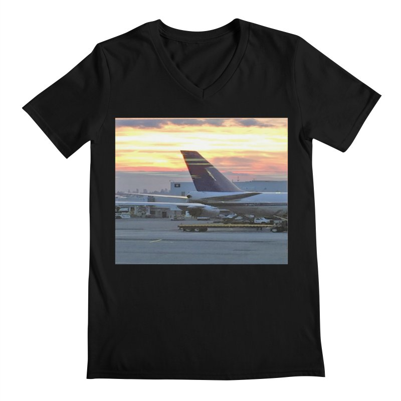 Fly with Me Men's V-Neck by terryann's Artist Shop