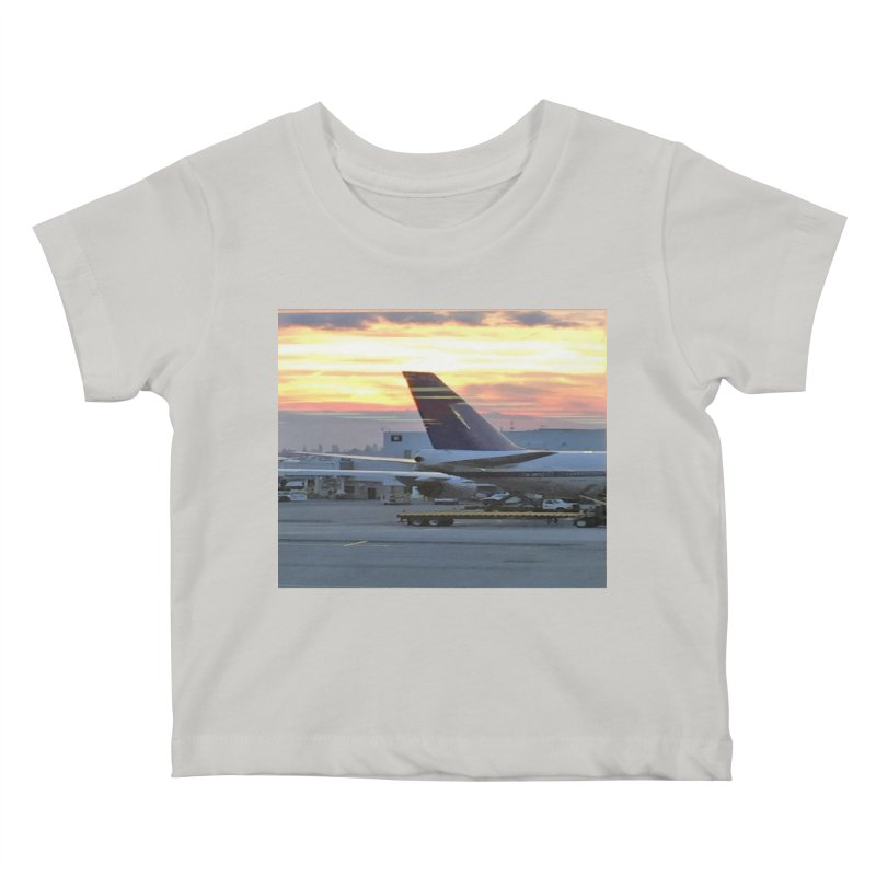 Fly with Me Kids Baby T-Shirt by terryann's Artist Shop