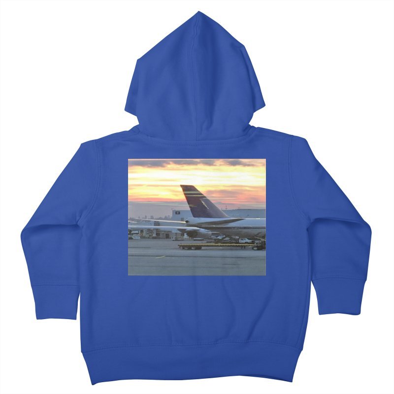 Fly with Me Kids Toddler Zip-Up Hoody by terryann's Artist Shop