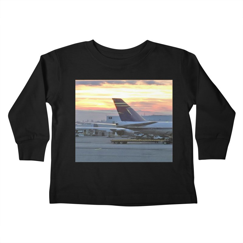 Fly with Me Kids Toddler Longsleeve T-Shirt by terryann's Artist Shop