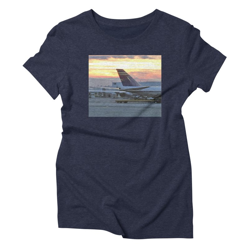 Fly with Me Women's Triblend T-Shirt by terryann's Artist Shop