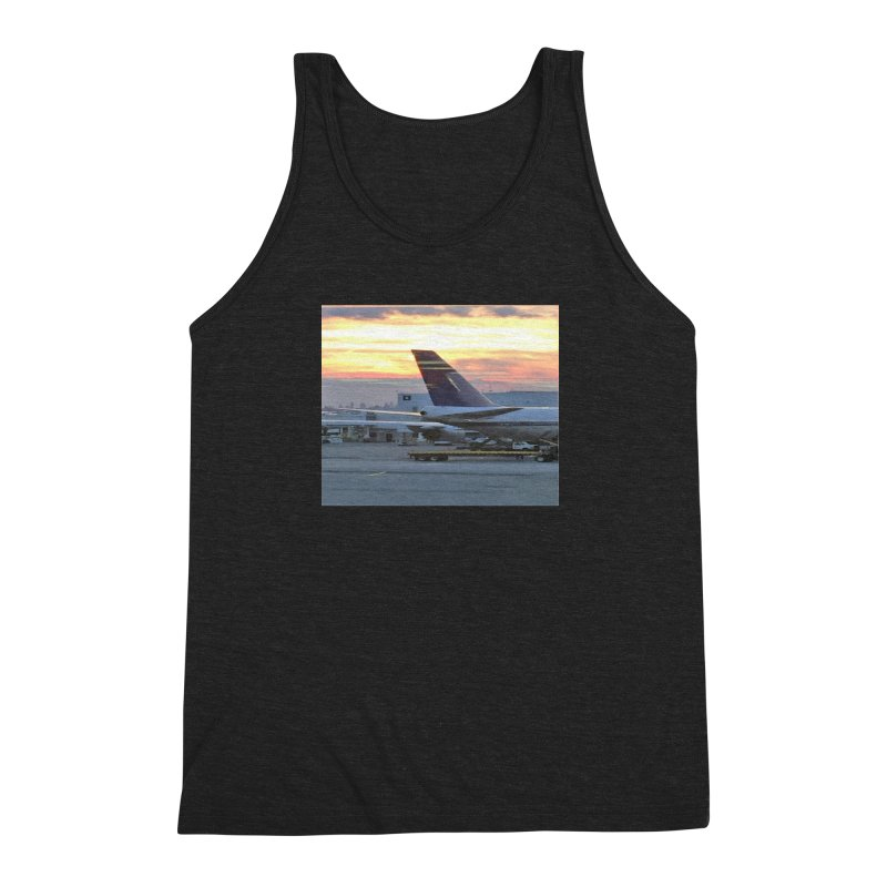Fly with Me Men's Triblend Tank by terryann's Artist Shop