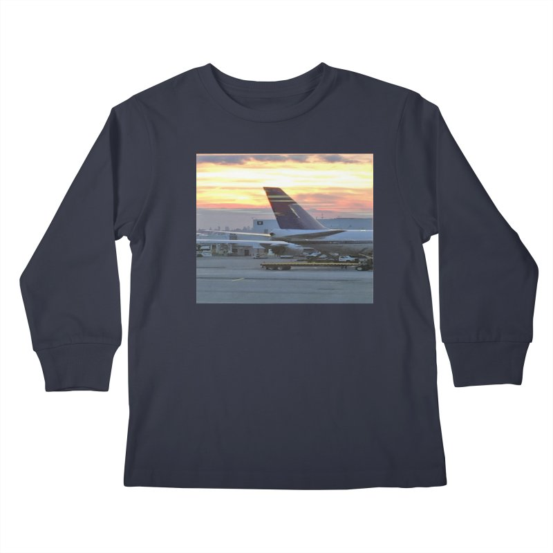 Fly with Me Kids Longsleeve T-Shirt by terryann's Artist Shop
