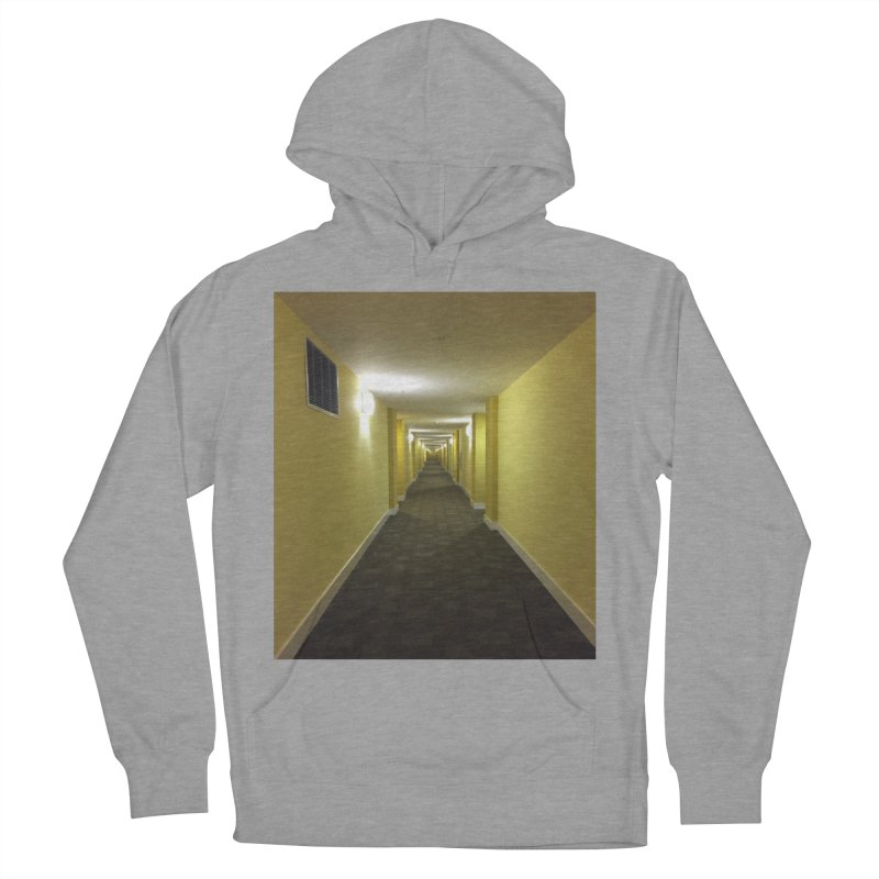 Hallway - What could happen? Men's Pullover Hoody by terryann's Artist Shop