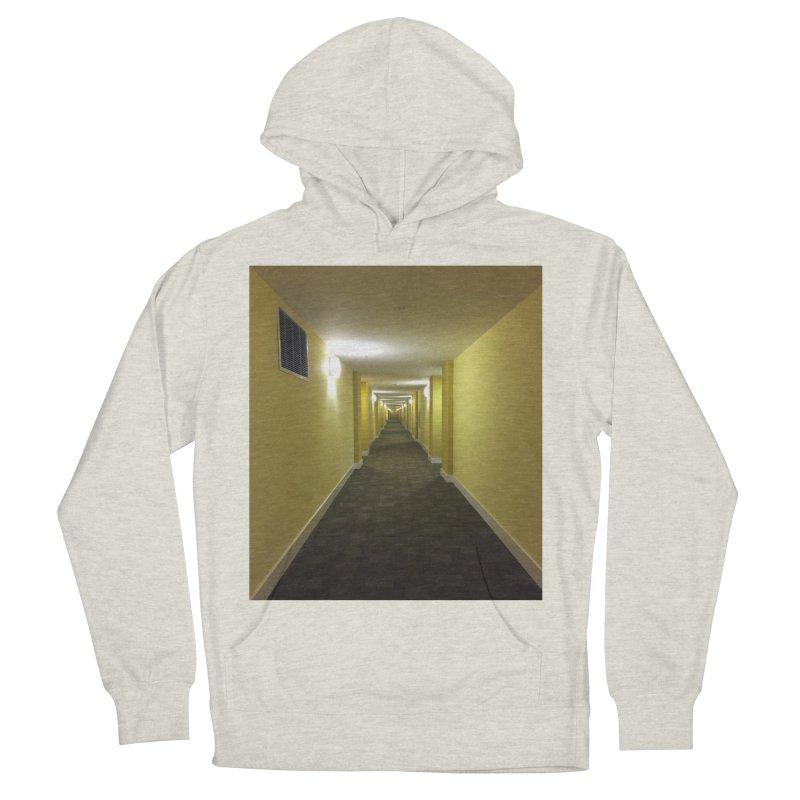 Hallway - What could happen? Men's Pullover Hoody by terryann's Artist Shop